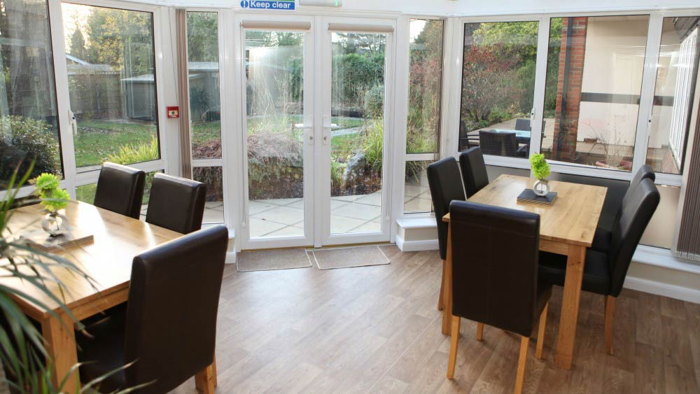 Care Home Residential Potters Bar The Firs Conservatory